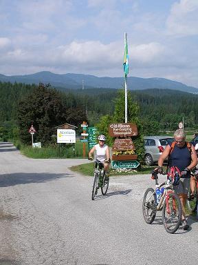 Einfahrt Campingplatz
