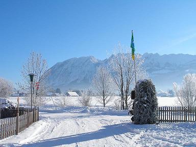 Campingplatz Winter